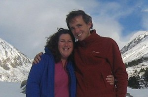 Stella and Richard in the Pyrenees